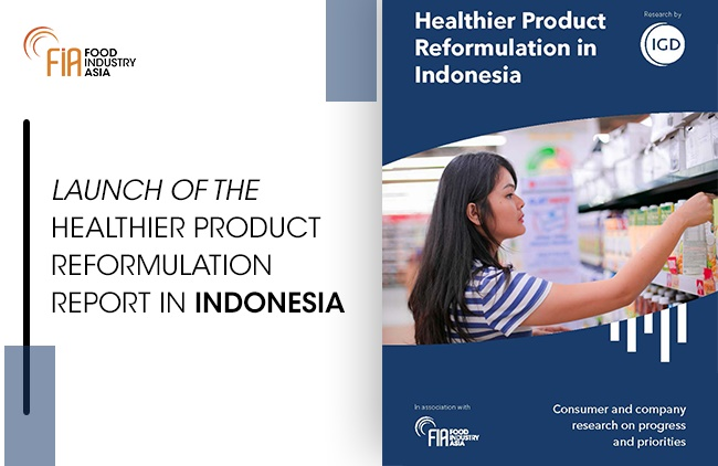 Most Indonesians are Health Conscious and are Open to Healthier Product Reformulation