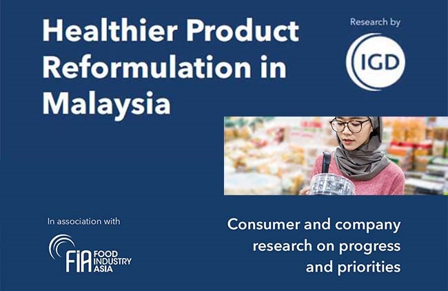 Majority of Malaysian Consumers want Healthy Foods but Cost is a Deterrence